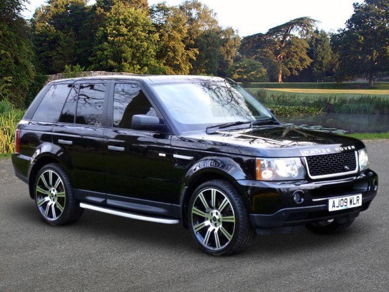 2009 land rover range rover sport 2 7 td v6 hse 5dr in. Black Bedroom Furniture Sets. Home Design Ideas