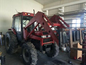 Tracteur case internationale 695  4x4