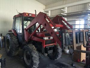 Tracteur case internationale 695  4x4