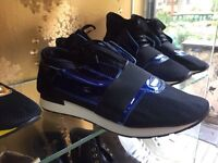 Balenciaga runners ltd edited m/blue size 7