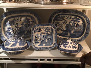 Blue Willow Transferware Collection