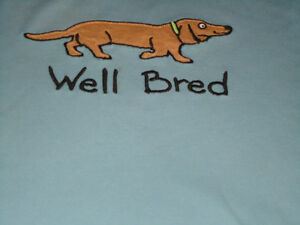 "Ladies Size L/G Long Sleeve ""Well Bred"" ***Hatley*** T-Shirt Kingston Kingston Area image 2"