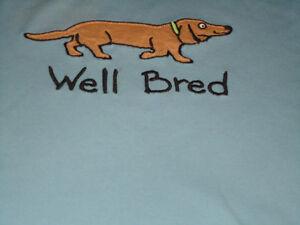 "Ladies Size L/G Long Sleeve ""Well Bred"" ***Hatley*** T-Shirt Kingston Kingston Area image 2"
