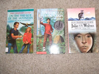 3 Jean Craighead George books-excellent condition