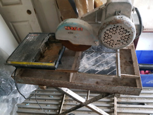 Professional TILE SAW by Target.Cuts Big Tiles + UniStone Pavers