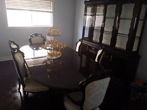 Moving out sale. Solid wood furniture and more