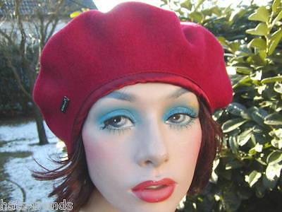 alla moda Gemini/_mall/® per autunno e inverno berretto piatto alla francese di lana da donna