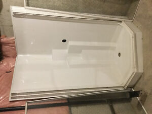 new glass shower  for sale