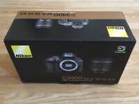 Nikon D3400 DSLR Camera with AF-P 18-55mm Lens