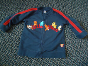 Boys Size 3 Full Zip Cotton Jogger Sweater by Little Tikes