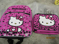 Hello Kitty Backpack and Lunch Kit