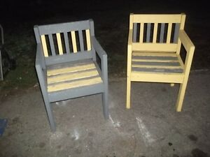 Outdoor Wood Chairs