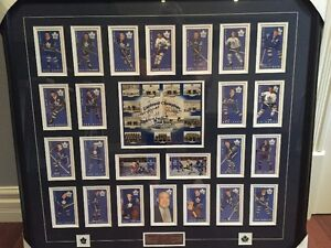 Toronto Maple Leaf Gardens with Card Set Signed