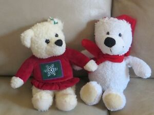 2 Little Christmas Bears