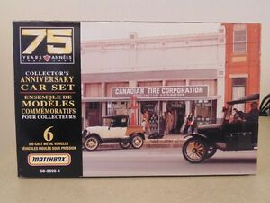 Matchbox Canadian Tire 75 Years Collectors Anniversary 6 Die-Cas