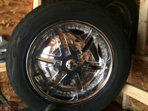 used tires and rims and wheel nuts