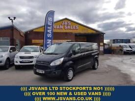 2015 65 FORD TRANSIT CUSTOM 2.2 290 TREND LONG WHEEL BASE 125 BHP PANTHER BLACK