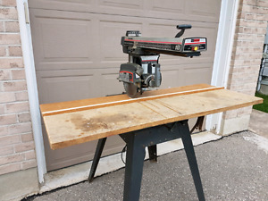 10 radial saw