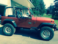 SUPER JEEP WRANGLER YJ 1987 (AMC 360)