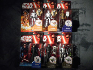 NEW Star Wars The Force Awakens Figures $5 each