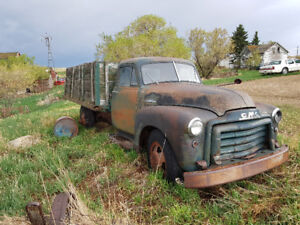 1952 GMC 1 Ton Pickup with Tilting Grain Bed! Great Shape!!!