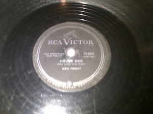 ELVIS PRESLEY LOST RECORDS DJ CLEAROUT RCACANADA78RPM  HOUND DOG Cambridge Kitchener Area image 2