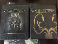 Game of Thrones Blu-Ray Season 1 and 2.