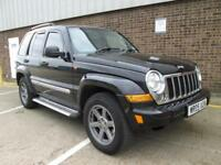 2005 (05) JEEP CHEROKEE 2.8 TD DIESEL AUTOMATIC 4X4 LIMITED FULL LEATHER