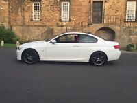 BMW 320d M SPORT///RED LEATHER///FULL BMW HISTORY///