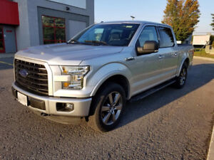 2016 Ford F-150 V8 SuperCrew XLT FX4 Pickup Truck