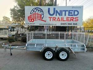 8x5 Tandem Galv Box Trailer 600mm cage Vineyard Hawkesbury Area Preview