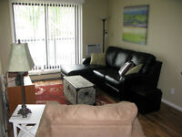 Fully furnished one-bedroom condo, available July 1