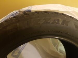 set of Bridgestone Blizzak winter Tires