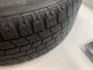 RIMS 5x100  & 195/65/15 WINTER tires    BLIZZAK