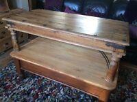 Beautiful Sheesham Wood Coffee Table