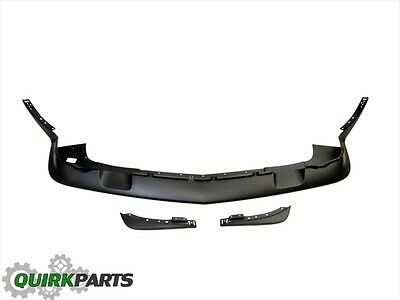 11-14 DODGE CHALLENGER SRT8 FRONT SPOILER AIR DAM & SIDE EXTENSIONS/FILLER (Side Air Dam)