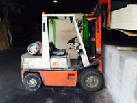 Nissan fork lift for sale