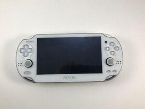 Console Sony Playstation PS Vita 1001 blanc / White PS Vita 1001