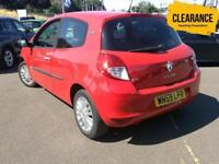 2009 RENAULT CLIO 1.2 TCE I Music 3dr