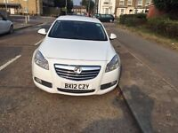 PCO REGISTERED UBER READY VAUXHALL INSIGNIA AUTOMATIC 2.0 CDTI DIESEL 2012
