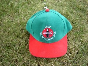 1997 HOLIDAY CARNIVAL TOUR COCA COLA HAT/COKE HAT/COLLECTIBLES London Ontario image 1
