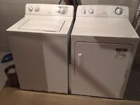 Washer and dryer.  $475 for the pair.