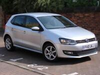 FINANCE AVAILABLE! 2010 VOLKSWAGEN POLO 1.2 MODA 5dr, ONLY 44000 MILES,