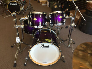 Batterie Pearl Masters 4 morceaux All Maple Shell