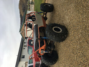 2017 4x4 rock crawler jeep