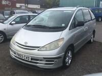 Toyota Previa 2.0TD CDX LONG MOT 7 SEATER LOW MILEAGE