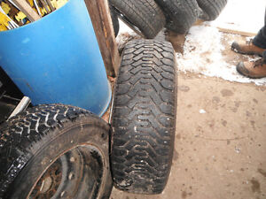 REDUCED ** Winter Tires on Rims **
