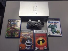 Sony PlayStation ps2 with 4 games