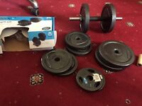 One body active equipment 32 kg weight set