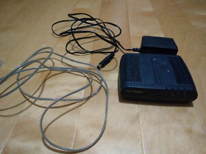 DSL Modem Speedtouch Thomson ST516 and accessories